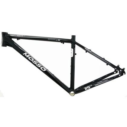 "Quadro de Bike MTB Alumínio Mosso Odyssey aro 29"" Preto Cinza"