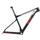 """Quadro de Bike MTB BMC Team Elite 01 Preto e Vermelho Aro 29"""""""