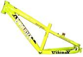 "Quadro para Bike Viking X Warrior Aero X29 Amarelo Neon aro 26"""