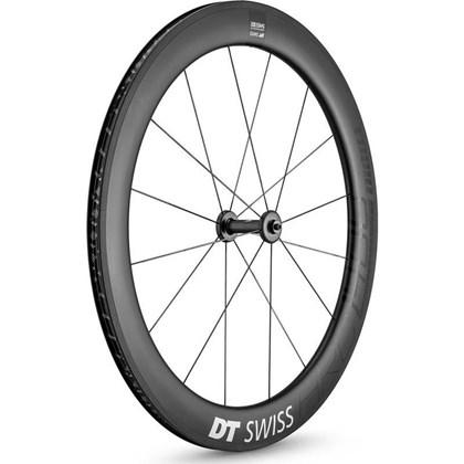 Roda Bike DT Swiss ARC 1400 Dicut Dianteira 700c Carbon Altura da Borda 62mm