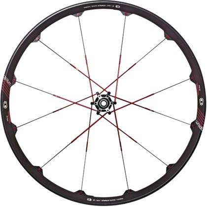 "Roda Bike MTB Crank Brothers Opium 3 Aro 26"" Preta e Vermelha"