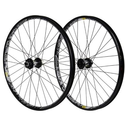 """Roda Bike MTB Mavic Deetraks Downhill Aro 26"""" Preta"""