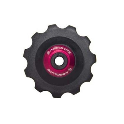 Roldana Absolute para Câmbio Traseiro de Bike Vermelha