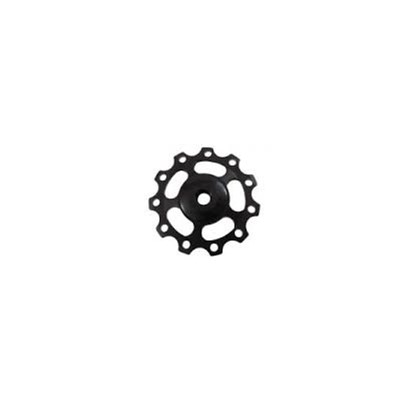 Roldana Câmbio Bike WG Sports Alumínio 8 9 e 10v Preta