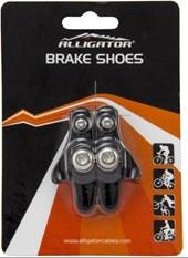 Sapata de Freio Bike Alligator Para Freio de Speed Preto