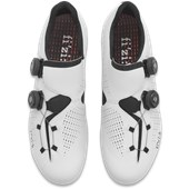 Sapatilha Ciclismo Fizik R1 Infinito Branca e Preta