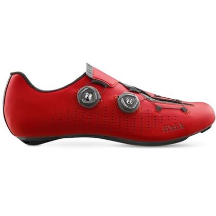 Sapatilha Ciclismo Fizik R1 Infinito Vermelha
