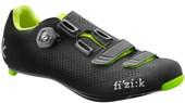 Sapatilha Ciclismo Fizik R4 Uomo Boa Carbon Preta e Neon