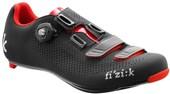 Sapatilha Ciclismo Fizik R4 Uomo Boa Carbon Preta e Vermelha