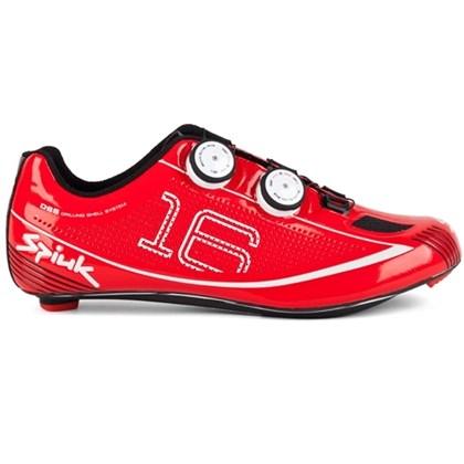 Sapatilha Ciclismo Spiuk 16rc Carbono Vermelha