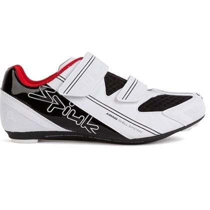 Sapatilha Ciclismo Spiuk Uhra Branca Preta - Bike Plus 621143685a