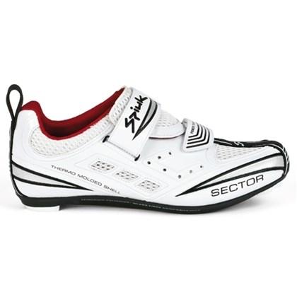 Sapatilha Triathlon Spiuk Sector Branca Prata