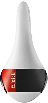 Selim Fizik Aliante R3 Carbon Braided Branco Cinza e Vermelho
