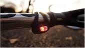 Sinalizador Bike Dianteiro e Traseiro Knog Frog Strobe Branco