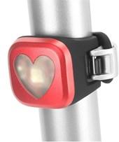 Sinalizador Bike Traseiro Knog Blinder 1 Coração Vermelho