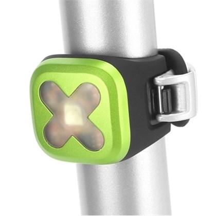 Sinalizador Bike Traseiro Knog Blinder 1 Cross Lime Verde