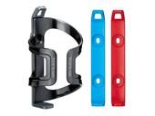 Suporte Caramanhola Topeak Dualside Cage EX Cinza Azul e Vermelho