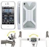 Suporte para iPhone 4/4S Topeak RideCase TT9832 Branco
