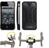Suporte para iPhone 4/4S Topeak RideCase TT9832 Preto