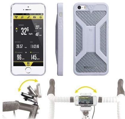 Suporte para iPhone 5 Topeak RideCase TT9833 Branco