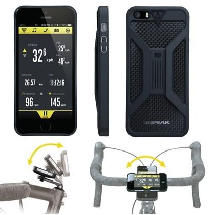 Suporte para iPhone 5 Topeak RideCase TT9833 Preto