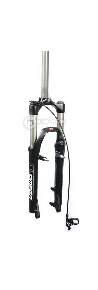 """Suspensão para Bike Aro 26"""" RST Omega RL 100mm Preta"""