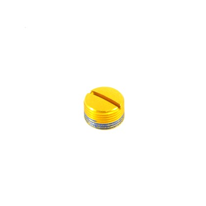 Tampa de Alumínio Para Pedal Crank Brothers Candy e Egg Beater 3 e 11 Dourada