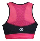 Top Feminino Ciclopp Craft Preto e Rosa