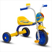 Triciclo Infantil Nathor You 3 Boy Azul e Amarelo